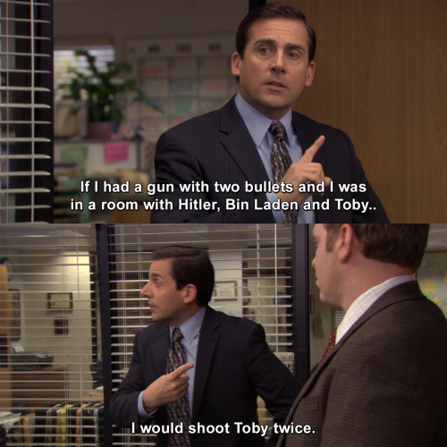 The Office - If I was in a room with Hitler, Bin Laden and Toby