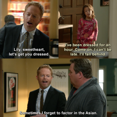 Modern Family - Lily, sweetheart, let's get you dressed.