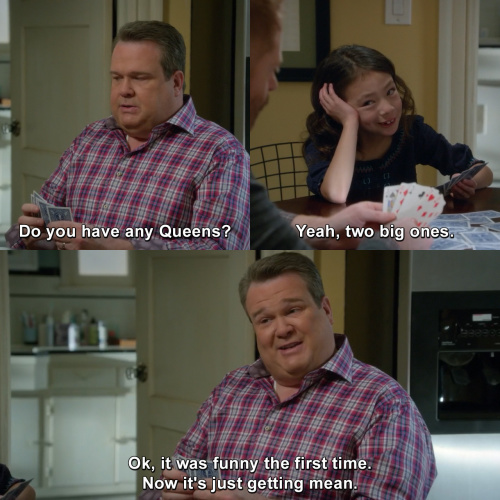 Modern Family - Do you have any Queens?