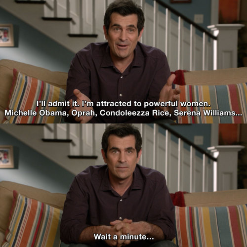 Modern Family - Strong Woman and Phil