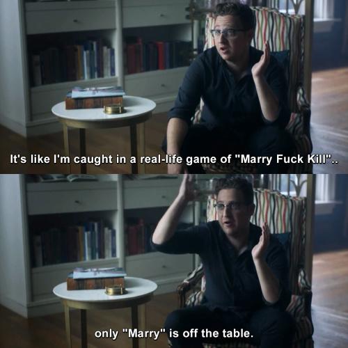 The Magicians - Marry Fuck Kill