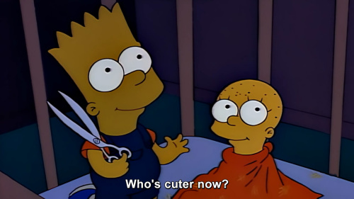 The Simpsons - Who's cuter now?