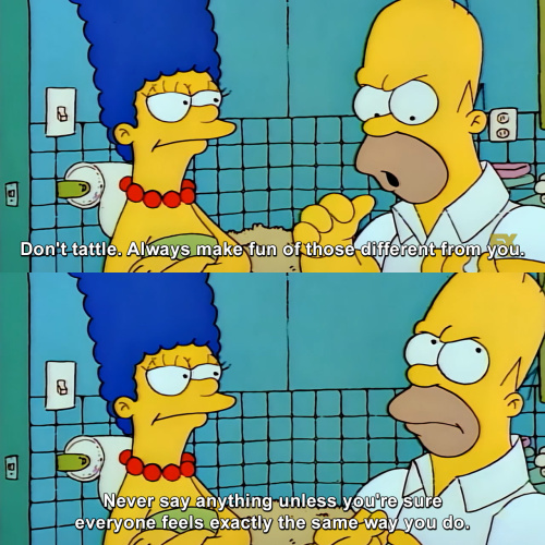 The Simpsons - The code of the schoolyard