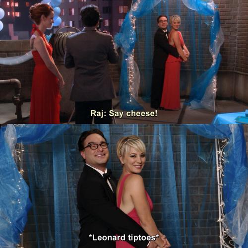 The Big Bang Theory - Say cheese!