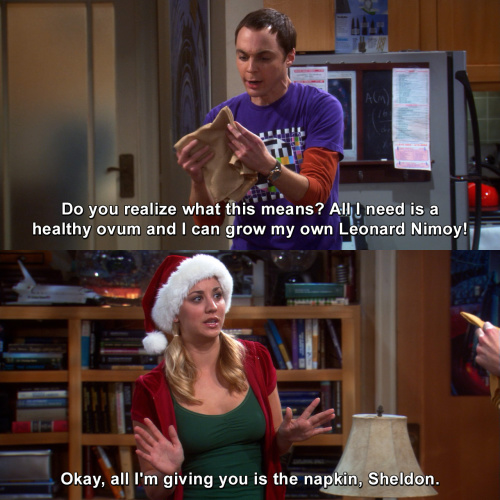 The Big Bang Theory - Do you realize what this means?