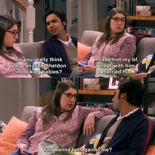The Big Bang Theory - So you really think you can trick Sheldon into liking babies?