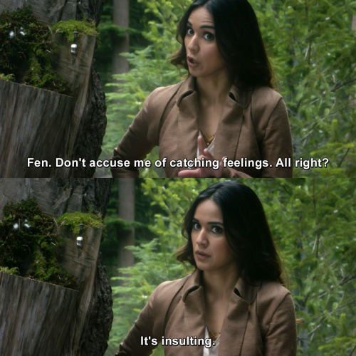 The Magicians - Don't accuse me of catching feelings.