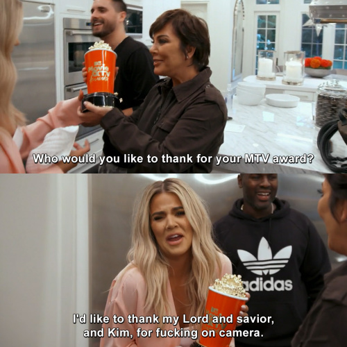 Keeping Up with the Kardashians - Who would you like to thank?