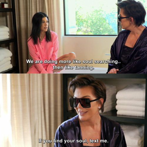 Keeping Up with the Kardashians - Should have been the title of the show.