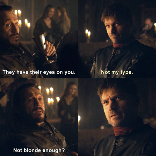 Game of Thrones - Those two have their eyes on you