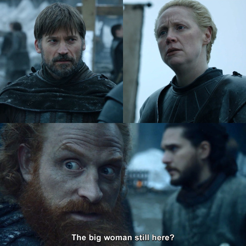 Game of Thrones - Best Love Triangle Ever - Jaime Lannister - Brienne of Tarth - Tormund Giantsbane
