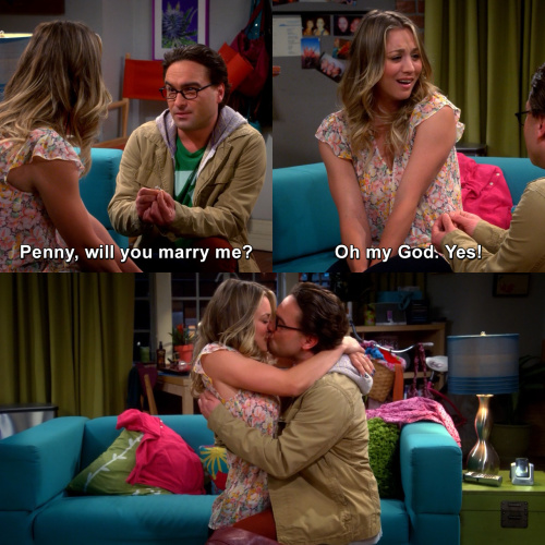 The Big Bang Theory - Penny, will you marry me?