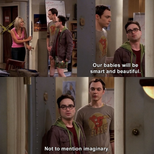 The Big Bang Theory - Smart and beautiful