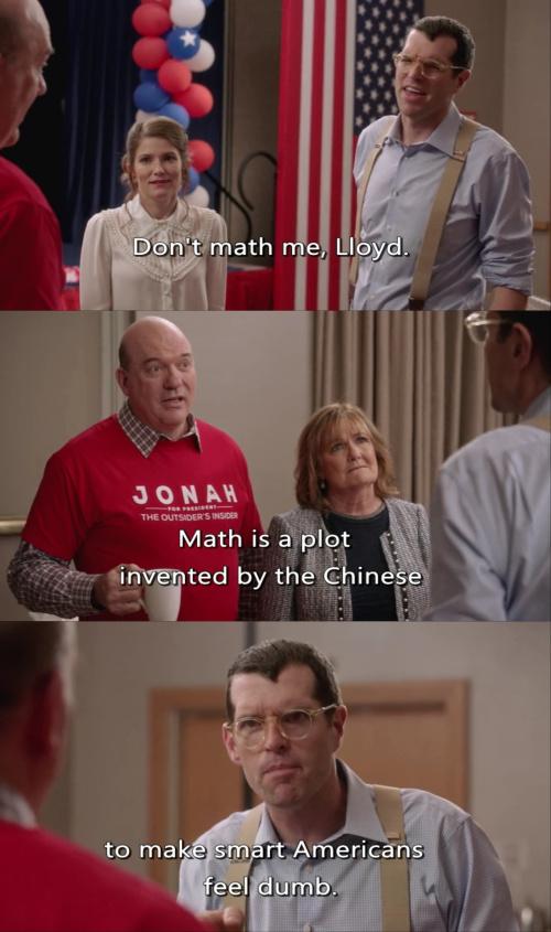 Veep - Math is a Plot to Make Americans Feel Dumb