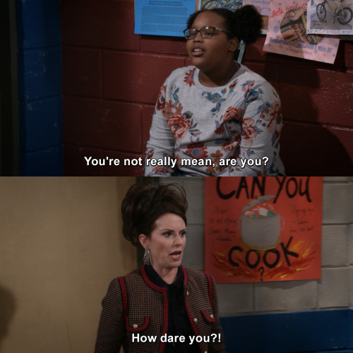 Will and Grace - You're not really mean, are you?