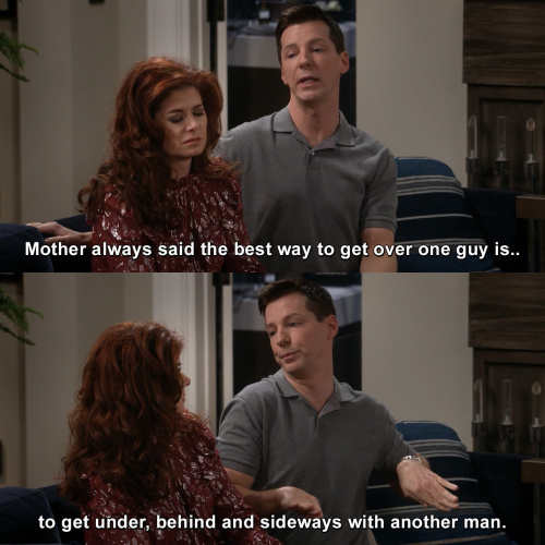 Will and Grace - The best way to get over one guy