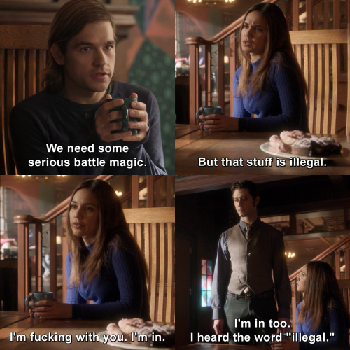The Magicians - We need some serious battle magic.