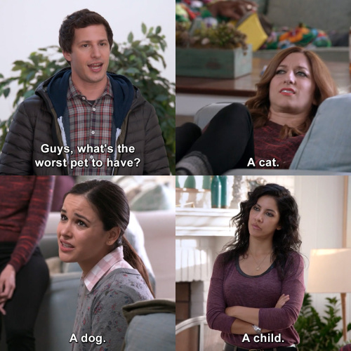 Brooklyn Nine-Nine - What's the worst pet to have?