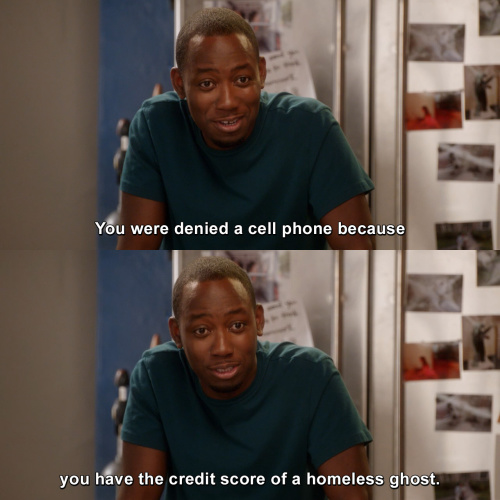 New Girl - You were denied a cell phone