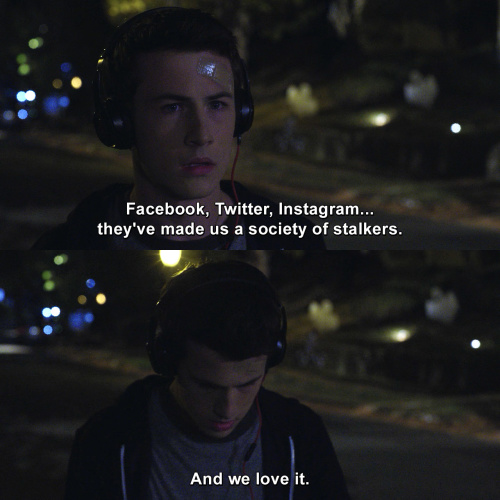 13 Reasons Why - Facebook, Twitter, Instagram
