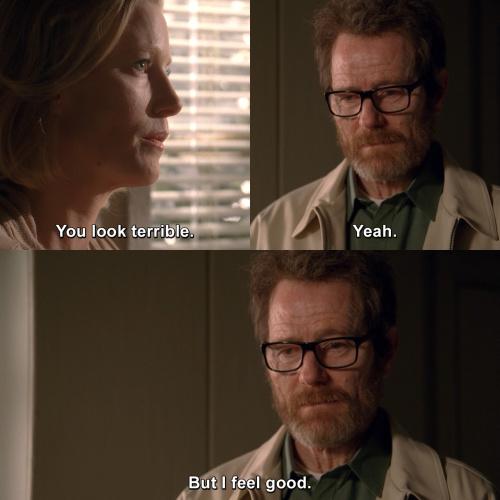 Breaking Bad - You look terrible.