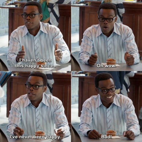 The Good Place - I haven't been this happy since