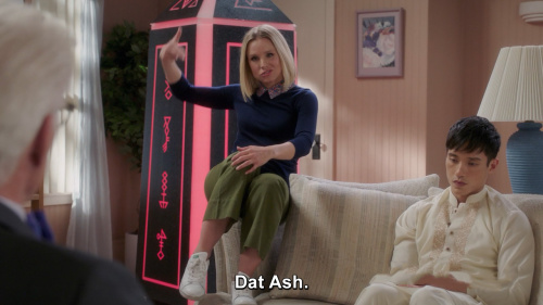 The Good Place - Another legendary Eleanor Shellstropism.