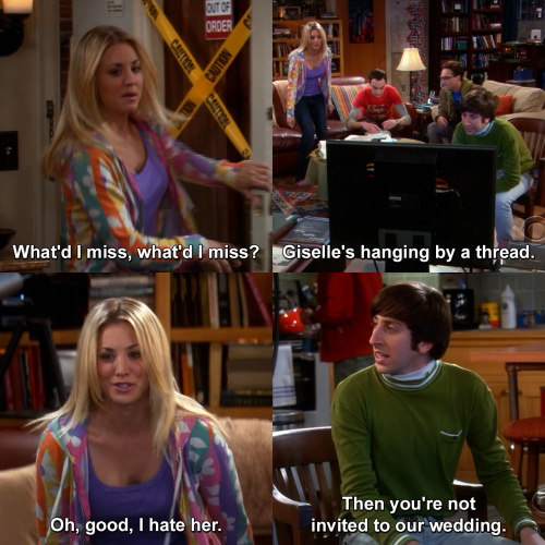 The Big Bang Theory - What'd I miss