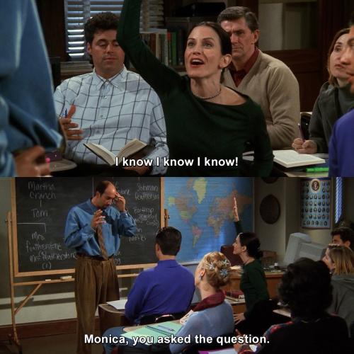 Friends - I know I know I know!