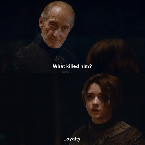 Game of Thrones - What killed him?
