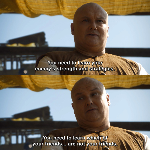 Game of Thrones -  You need to learn your enemy's strength