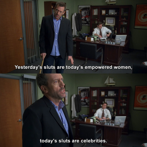 House MD - That's one hell of women empowering speech