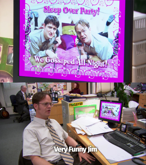 The Office - Very Funny Jim