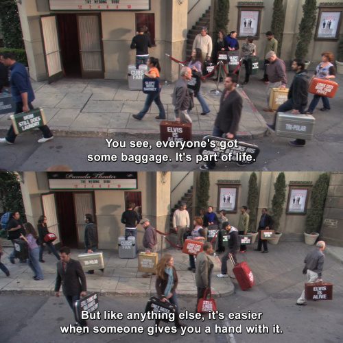 How I Met Your Mother - Everyone's got some baggage