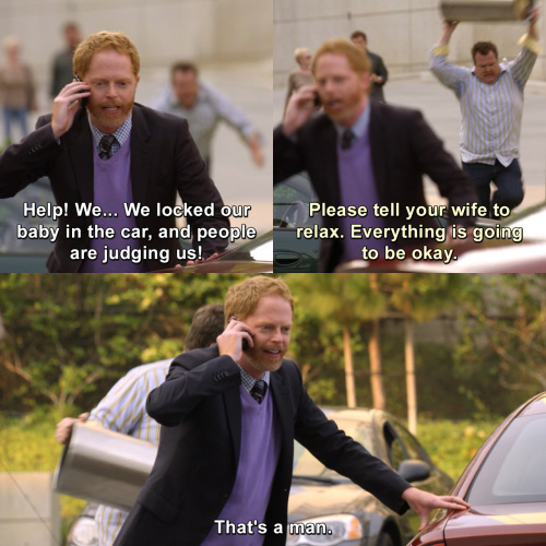 Modern Family - We locked our baby in the car