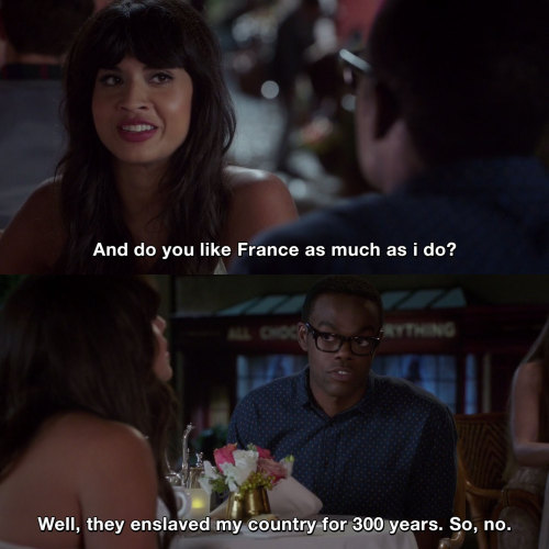 The Good Place - About France
