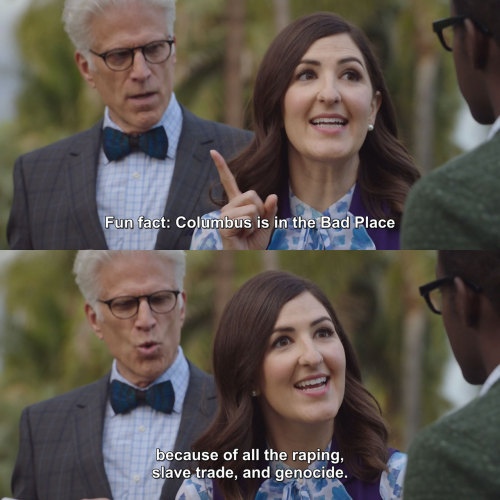 The Good Place - Janets Fun Facts