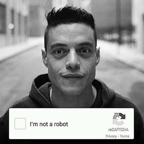 Mr Robot - I'm not a robot.