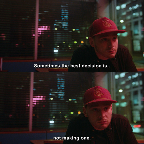 Mr Robot - Sometimes the best decision