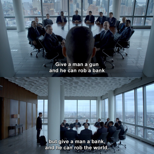 Mr Robot - Give a man a gun and he can rob a bank