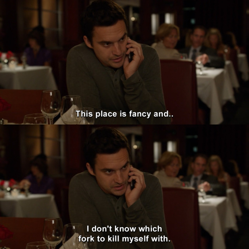 New Girl - This place is fancy