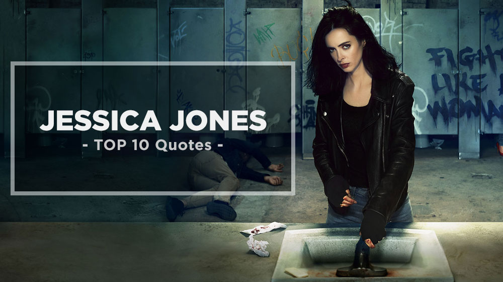 Jessica Jones most badass Quotes