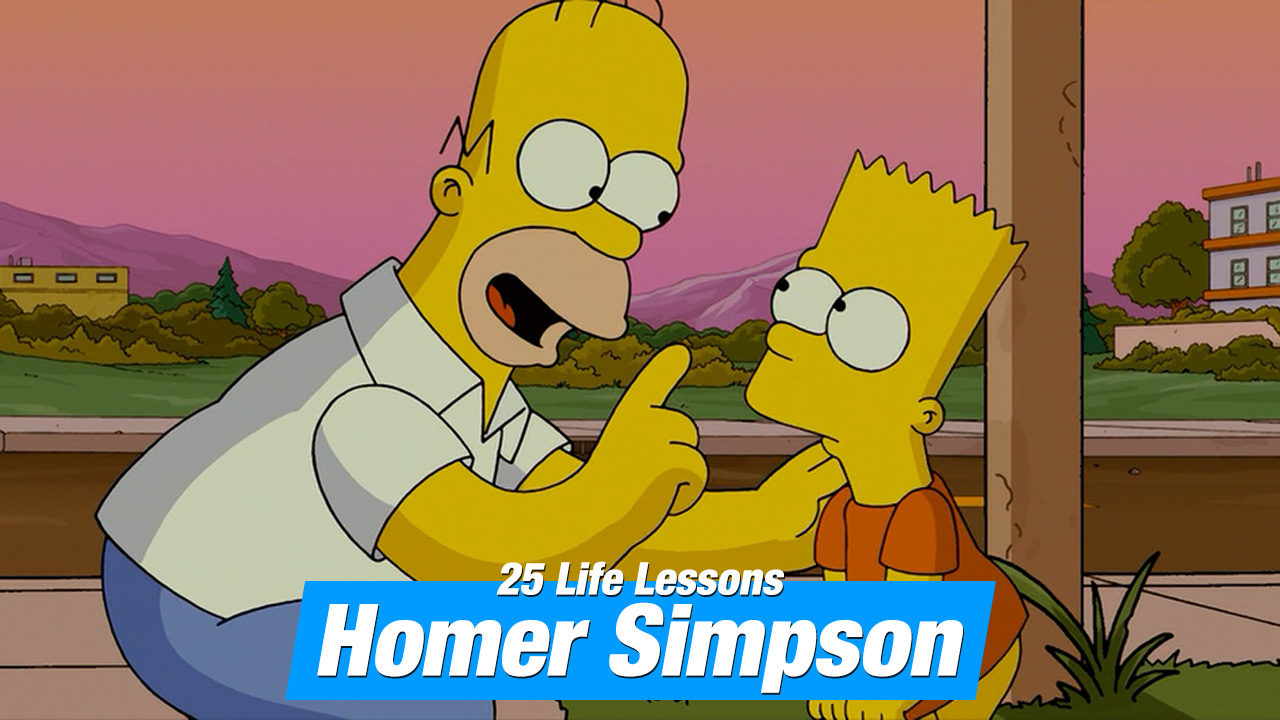 25 Most Questionable Life Lessons from Homer Simpson
